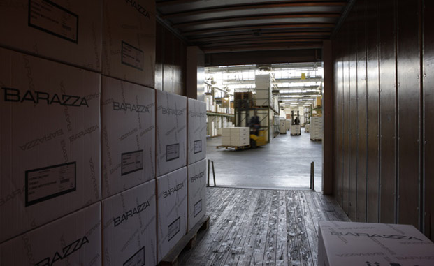 Il trasporto dei prodotti finiti anche in territorio estero