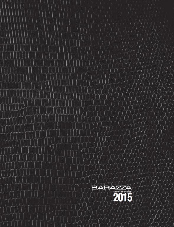 Barazza 2015 catalogue