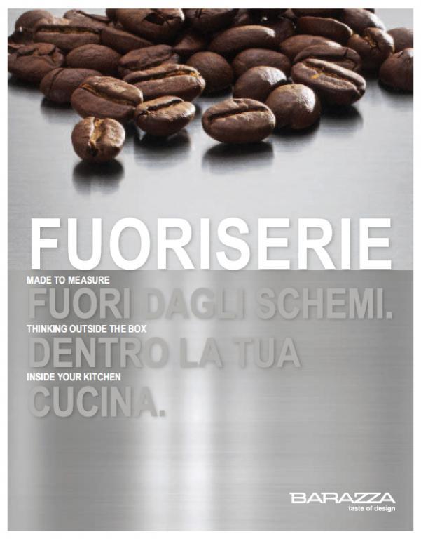 Barazza Fuoriserie catalogo