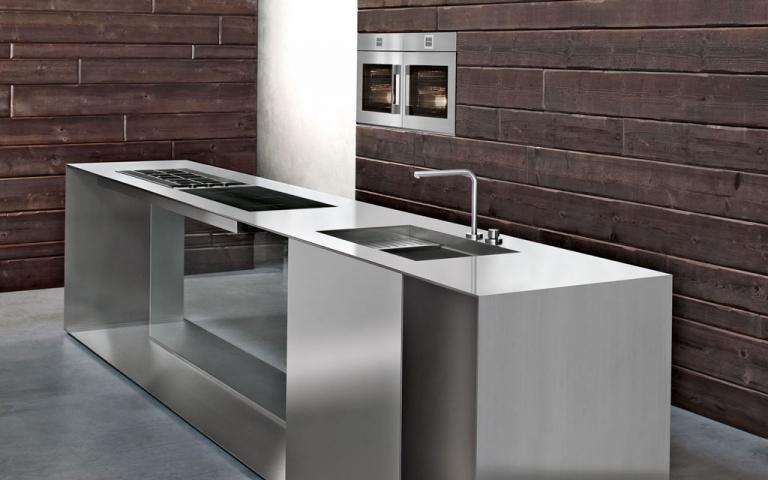 Barazza srl elettrodomestici di design in acciaio per cucine - Cucine in acciaio per casa ...