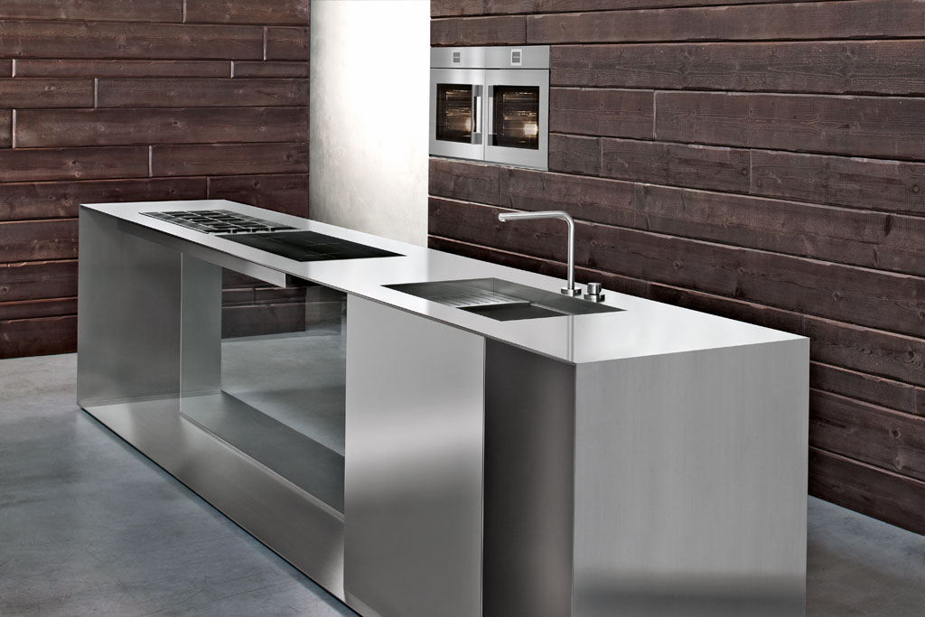 Custom kitchens becoming spaces for creativity - Cucine in acciaio ...