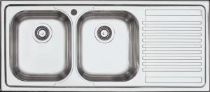 Lavello B_Fast incasso da 116×50