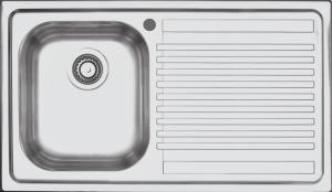 Lavello B_Fast incasso da 86×50