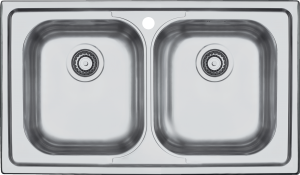 86×50 cm B_Fast built-in sink