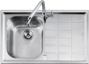 86×50 cm B_Level built-in sink
