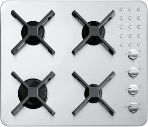 60 cm Select Flat built-in and flush hob