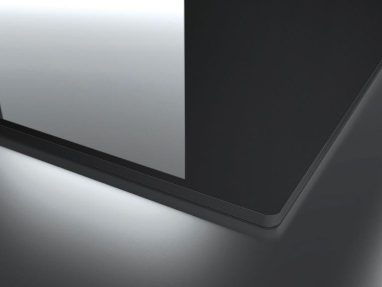 Incasso vetro bordo piatto (ivp)