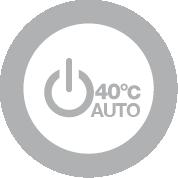 Avvio automatico 40°C