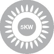 Bruciatore 5 kW