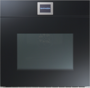 60 cm Velvet built-in Touch Screen multiprogram oven (automatic side-opening door black)