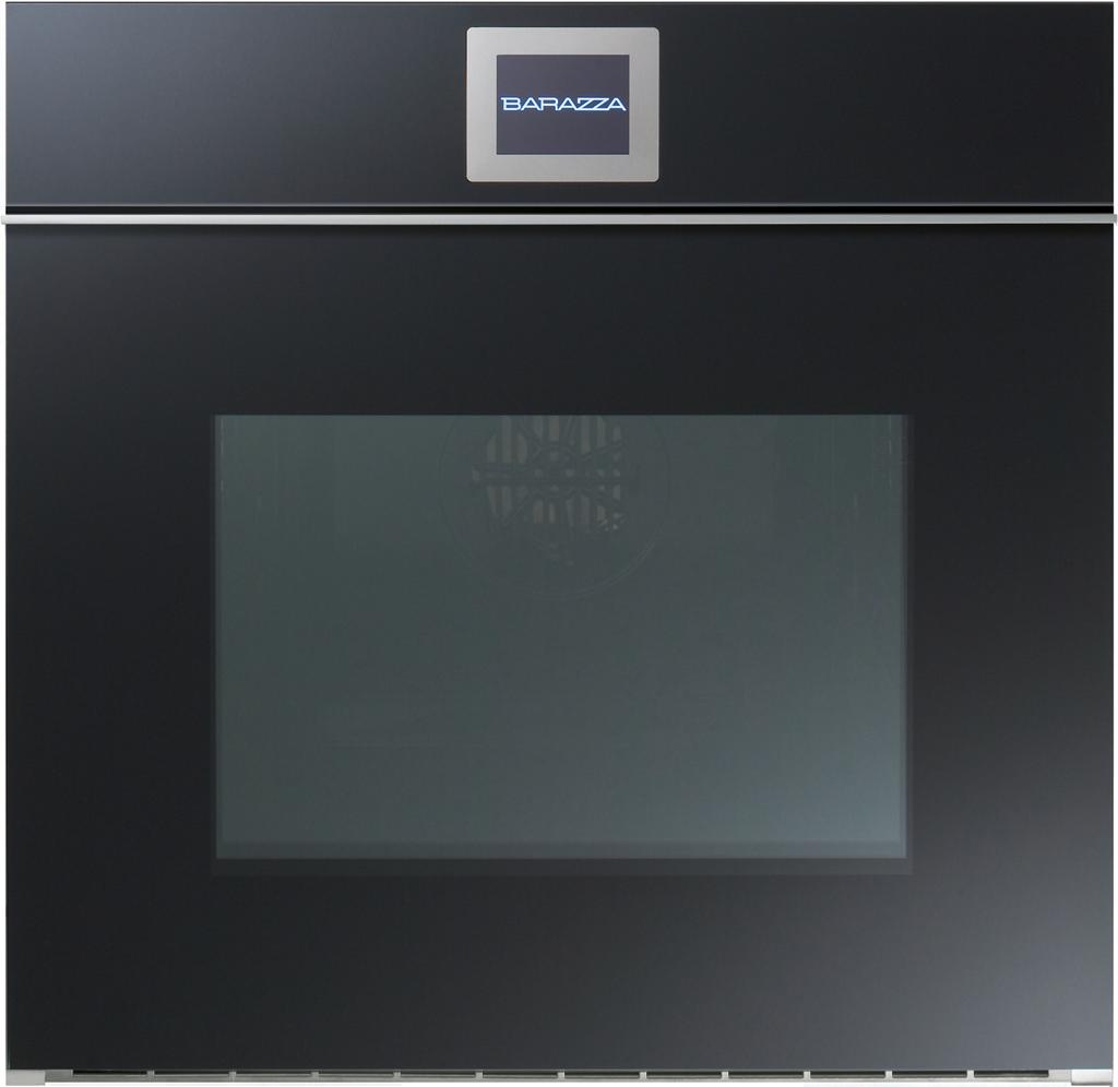60 Cm Velvet Built In Touch Screen Multiprogram Oven (drop Down Door With  Handle Black)
