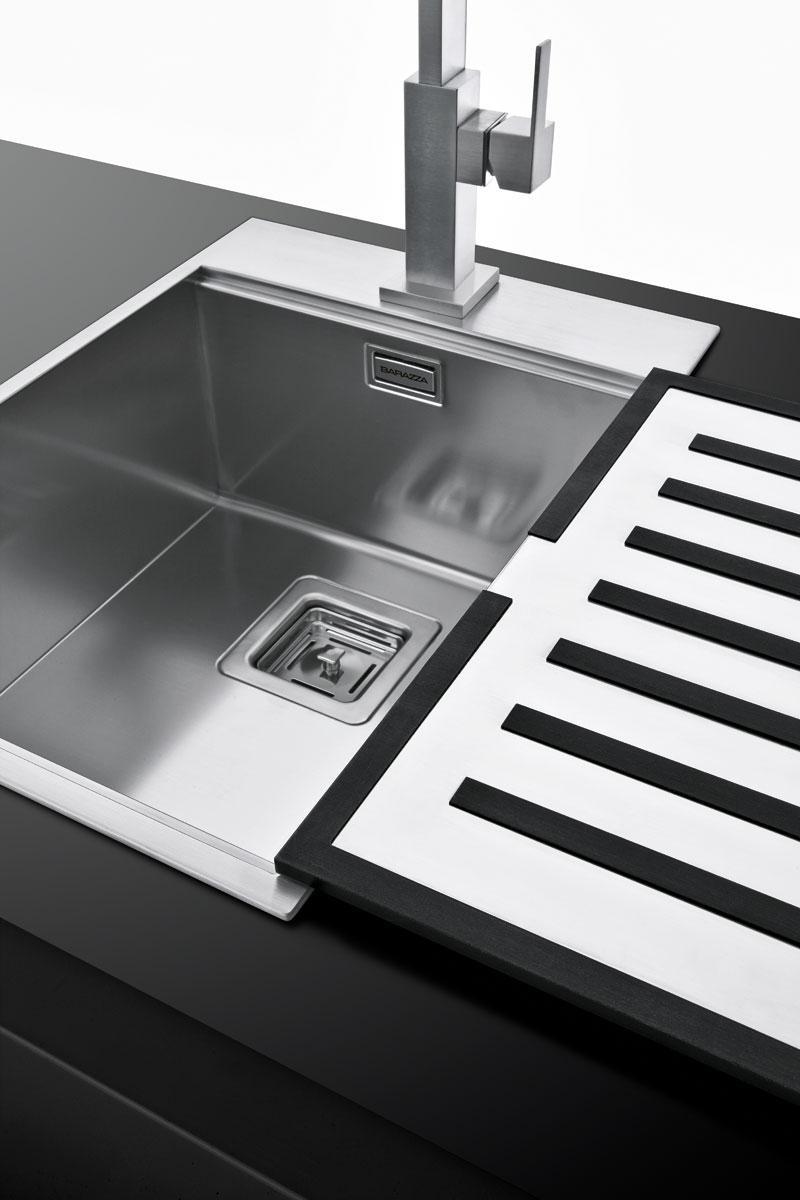 Piano cottura b free incasso da 60 barazza srl - Gocciolatoio cucina ...