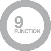 9 funzioni di cottura manuale