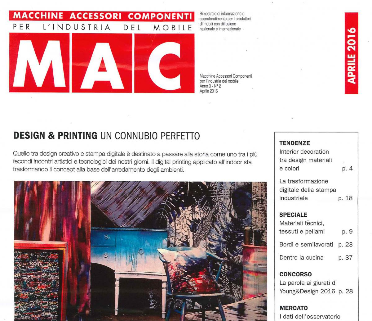 MAC – Macchine accessori componenti per l'industria del mobile – ITALIA