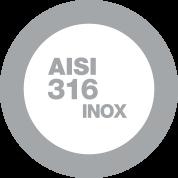 Acciaio Inox AISI 316