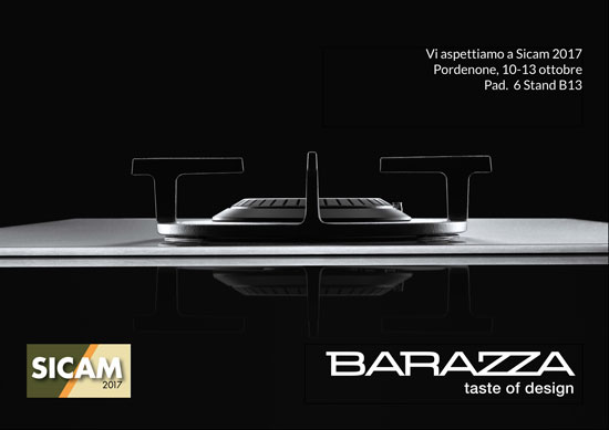 BARAZZA AT SICAM 2017, 10-13 OCTOBER