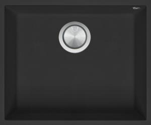 Vasca Quadra Soul da 50×40 B_granite nero