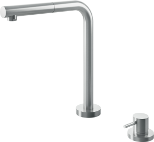 B_Open Telescopic mixer tap