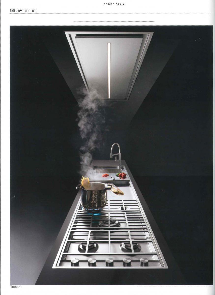 """Barazza on """"Kitchen Design Magazine 2018"""" – israeli magazine"""