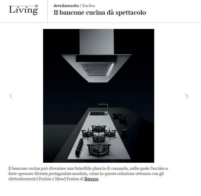 Barazza su Living Design magazine