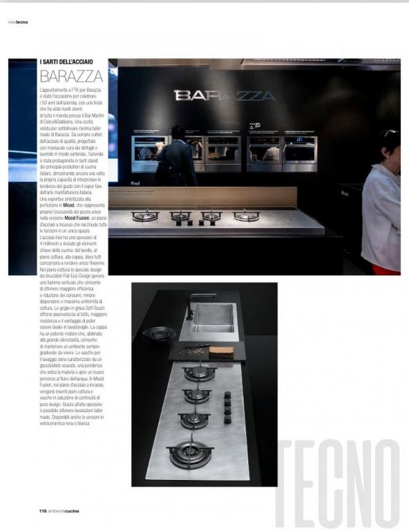 Ambiente Cucina report Milano 2018