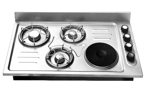one of the first freestanding cooking hobs