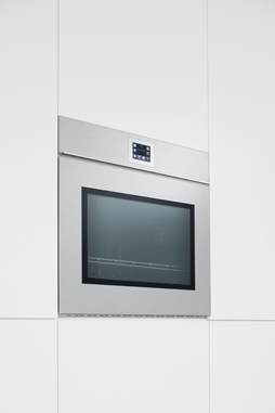 Velvet: the first oven with Touch Screen technology and software updatable through a USB device