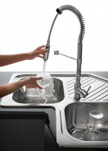 The new Spring and Flexi mixer taps 5