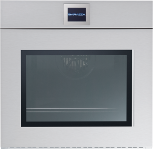 60 cm Velvet built-in Touch Screen multiprogram oven (side-opening door with handle steel)