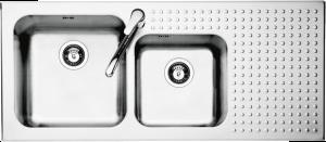 Fregadero Select de encastre de 116×50