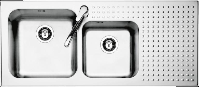 Lavello Select incasso da 116×50