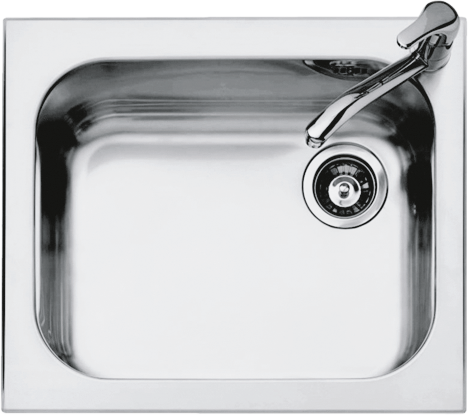 58.5×50 cm Select built-in sink