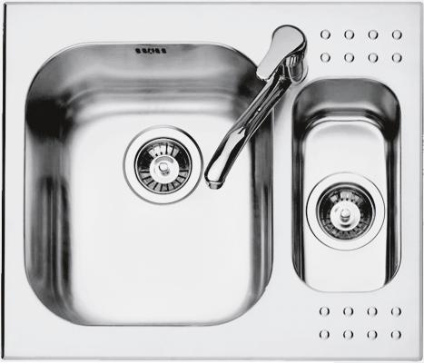 Lavello Select incasso da 58,5×50
