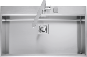 86×51 cm B_Free built-in sink