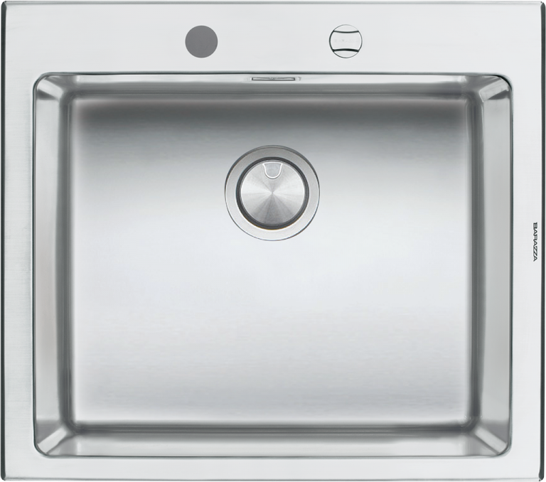 58×51 cm B_Open built-in sink