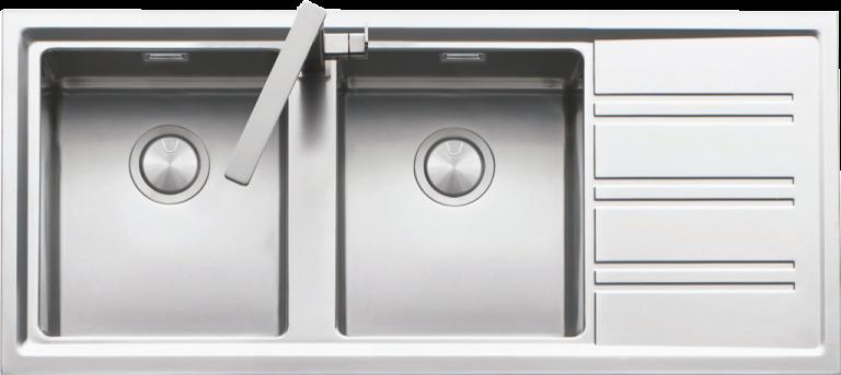 Lavello Easy incasso bordo ribassato da 116×50