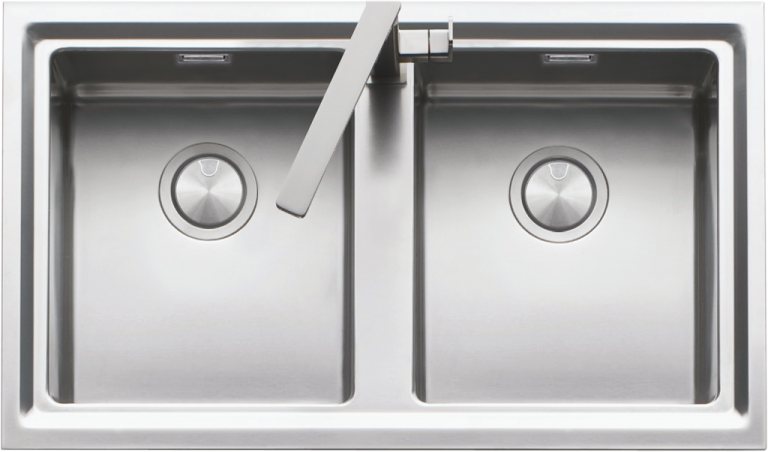 86×50 cm Easy lowered edge built-in sink
