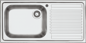 100×50 cm B_Fast built-in sink
