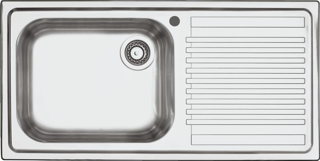 Scheda Tecnica Lavello Cucina.Lavello B Fast Incasso Da 100x50 Barazza Srl