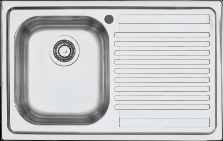 Lavello B_Fast incasso da 79×50