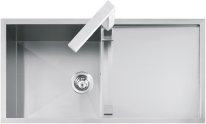100×51 cm Lab built-in and flush sink
