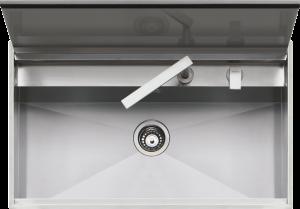 Fregadero Lab Cover de encastre y a filo de 86×51