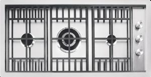 Placa de cocción Lab de encastre y a filo de 90