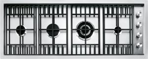 Placa de cocción Lab de encastre y a filo de 120