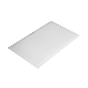 Rectangular polyethylene chopping board