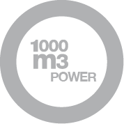 Moteur 1000 m³/h