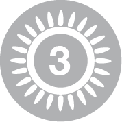Brûleur triple couronne