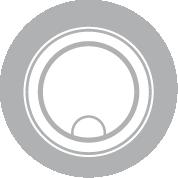 Cache-bonde acier inox