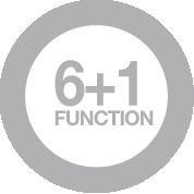 6+1 fonctions de cuisson manuelle