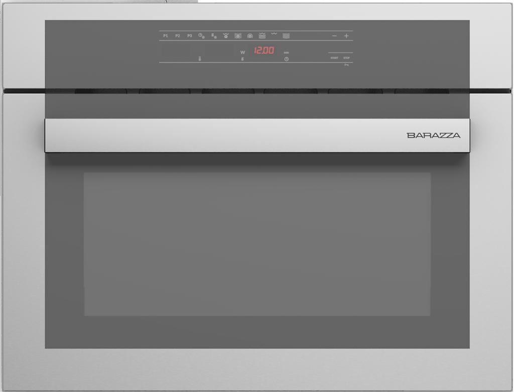 Forno feel incasso microonde combinato compatto touch - Forno combinato microonde e tradizionale ...